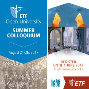 ETF Summer Colloquium @ ETF Leuven | Leuven | Vlaanderen | België