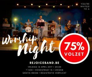 Worship Night Rejoice @ 't Sok   Izegem   Vlaanderen   België