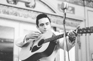 Johnny Cash in concert @ Bethel kerk    Schaarbeek   Brussels Hoofdstedelijk Gewest   België