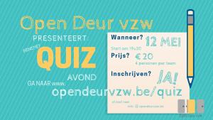 Quiz tvv Open Deur vzw @ Bethel | Schaarbeek | Brussels Hoofdstedelijk Gewest | België