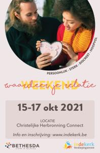 Huwelijksweekend met Bethesda @ Christelijke Herbronning Connect